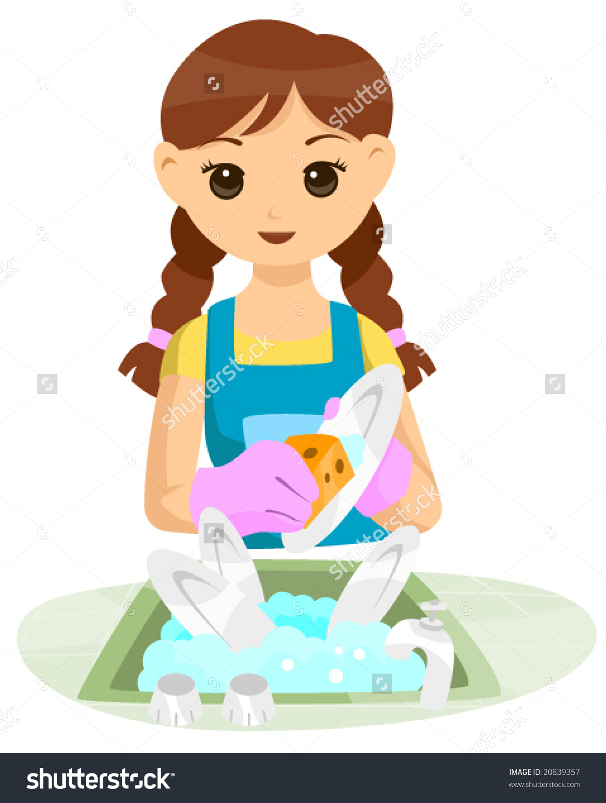 People clipart washing dish Clipart collections dishes dishes BBCpersian7