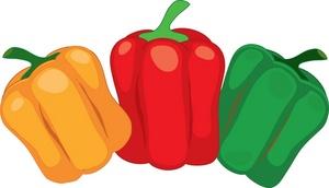 Capsicum clipart bell pepper Clip Clipart collection Pepper art