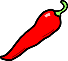 Chile clipart transparent Free clip clipart pepper to