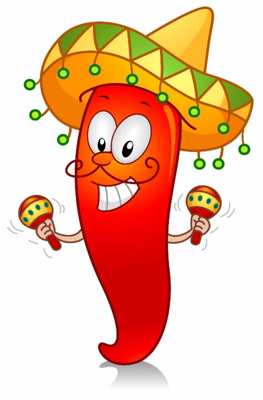 Pepper clipart fiesta Green Chile It's Fajitas Chicken