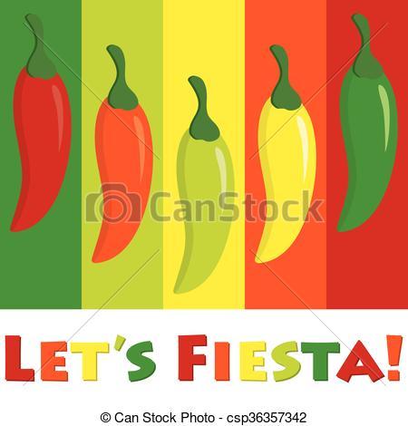 Pepper clipart fiesta Fiesta!