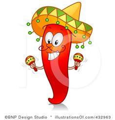 Pepper clipart fiesta San Clipart Download Art Antonio