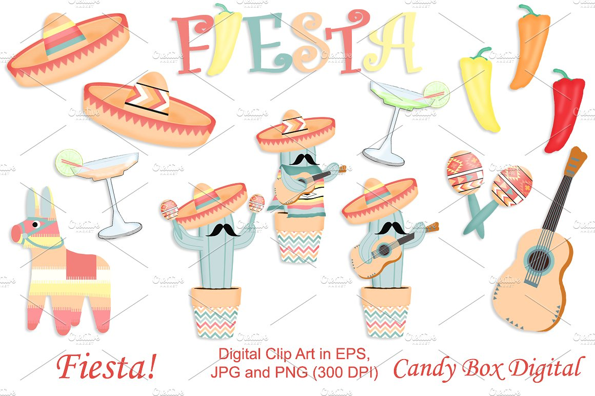Pepper clipart fiesta  with ~ Art Illustrations