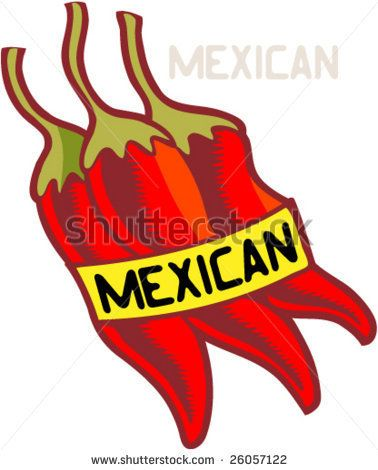 Pepper clipart mexican dinner Mexican 63 Pinterest MEXICAN best