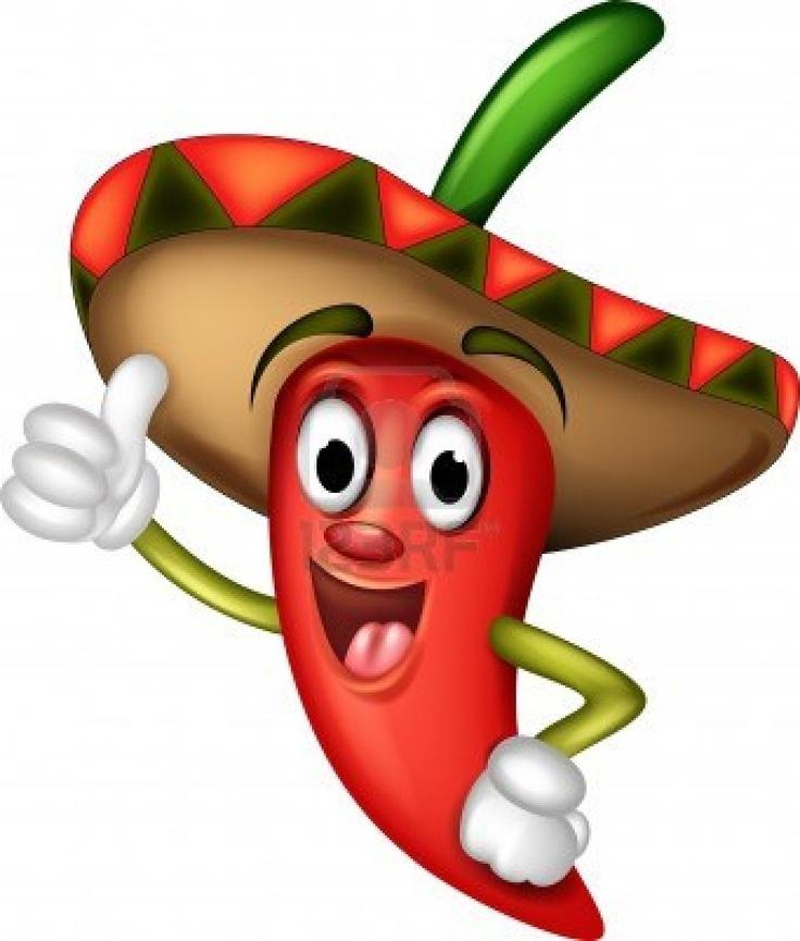 Pepper clipart mexican lady ART CLIP PEPPER best Pinterest