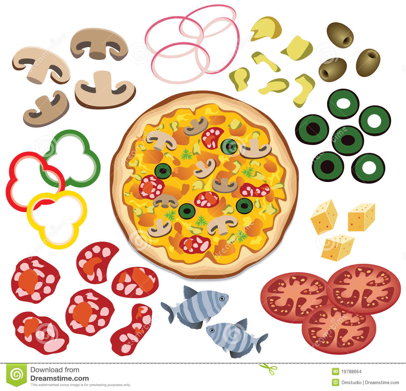 Mushroom clipart topping Search Search clipart themed pizza