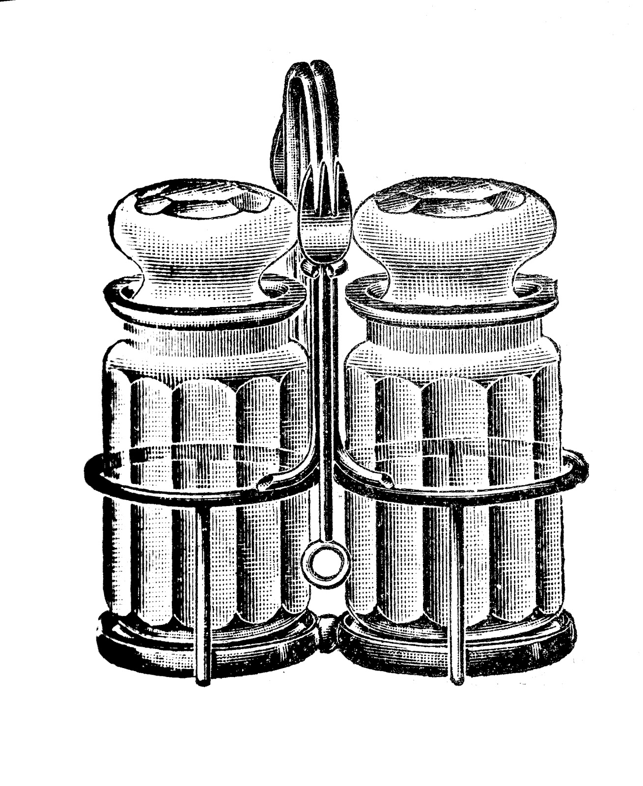 Pepper clipart salt and pepper Vintage salt shakers and clipart