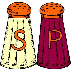 Pepper clipart salt and pepper Free Salt Salt  And