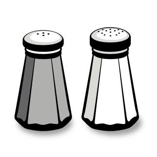 Pepper clipart salt and pepper Art Clipart Pepper Clipart Salt