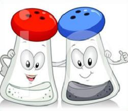 Pepper clipart salt and pepper Salt Free and and carton