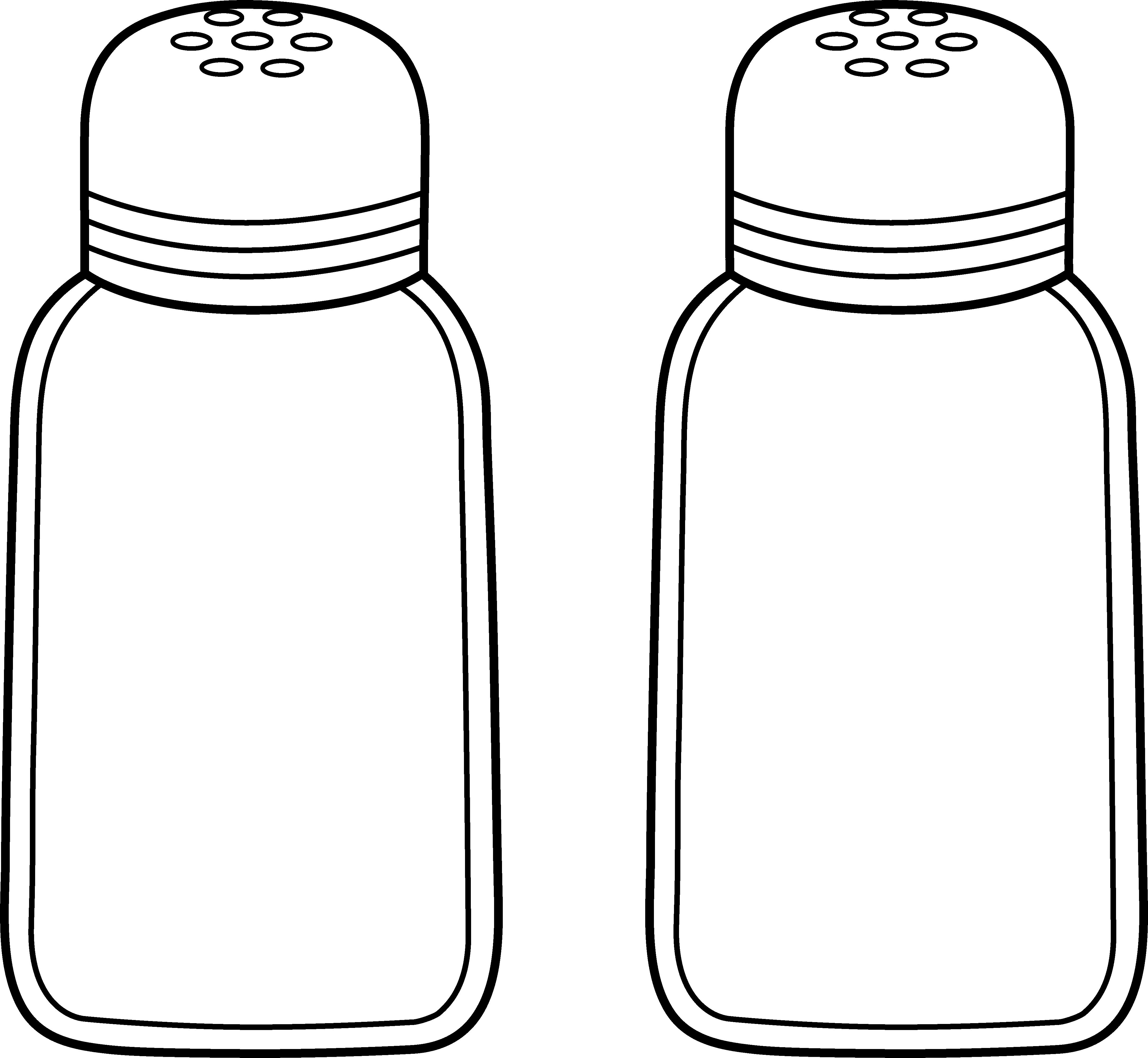 Pepper clipart salt and pepper Clip and Salt Pepper Art