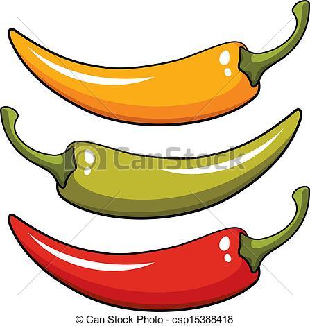 Pepper clipart vector  Pepper illustration Art of