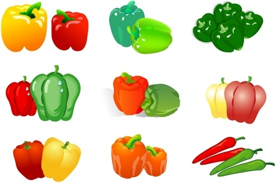 Pepper clipart vector 352 (6 vector chili