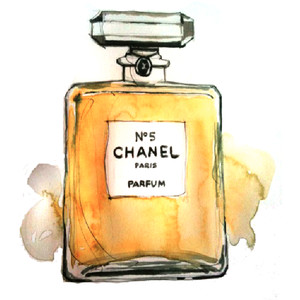 Perfume clipart Photo Chanel Chanel  5