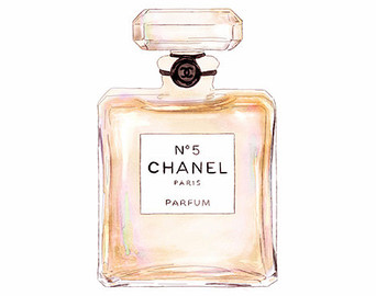 Perufme clipart chanel no 5 EstherBayer 5 Colorful Paris No