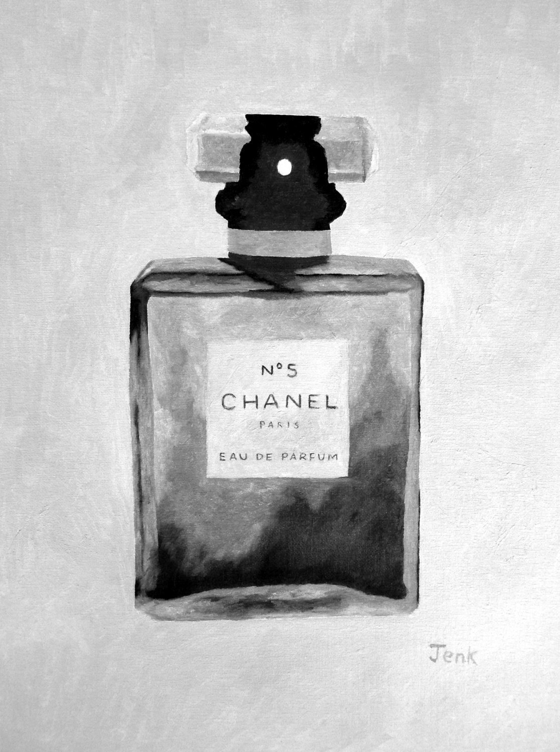 Perfume clipart chanel no 5 CHANEL White and Perfume Print