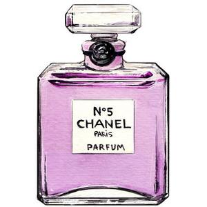 Bottle clipart chanel Accessory CHANEL Polyvore Original Illustration