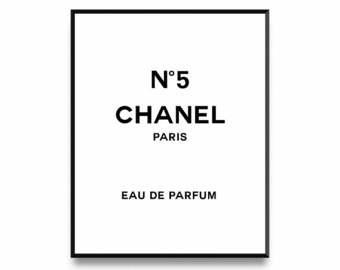 Perfume clipart coco chanel Logo Fashion Print Print logo