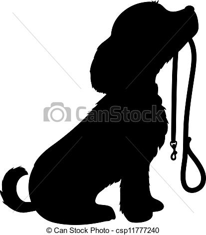 Perro clipart dog outline Ground Walking Dog Pinterest Play