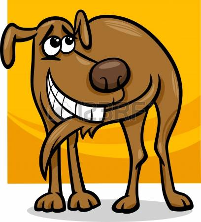Perro clipart dog tail 090 Tail Dog Dog And