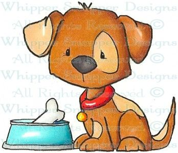 Perro clipart pet therapy Jaxon Lil' Stamps 58 Rubber