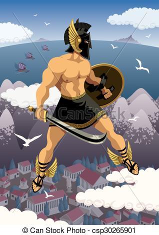 Perseus clipart greek person His Perseus Perseus hero of