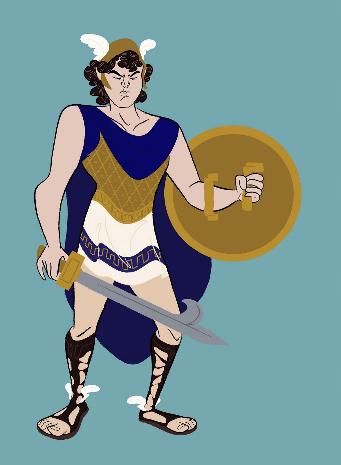 Perseus clipart cartoon The Cartoon Sketchblog  Cafeteria