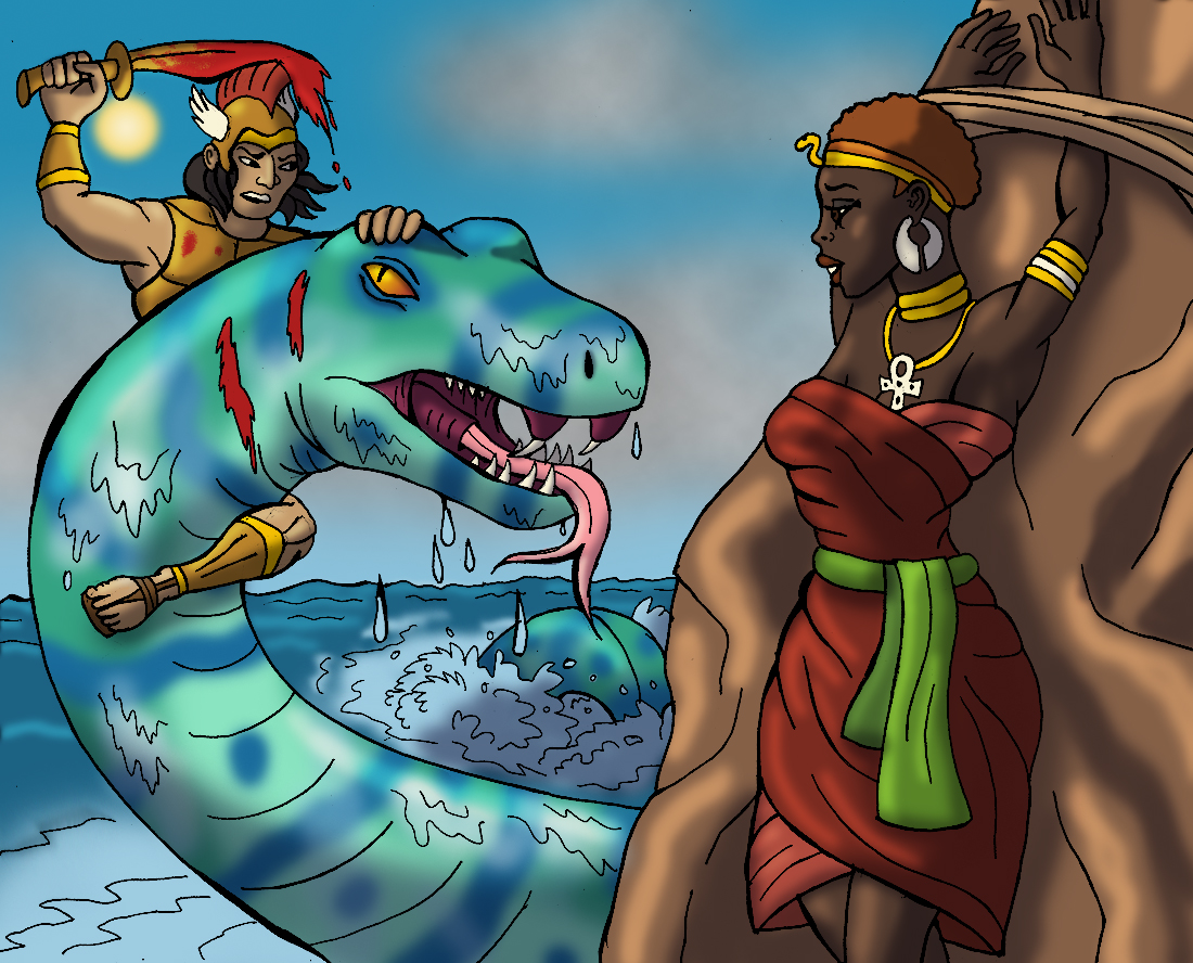 Perseus clipart disney And Tyrannoninja's Perseus Rescue the