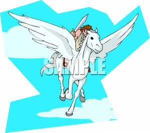Perseus clipart disney Pegasus Back Flying Pegasus Clipart