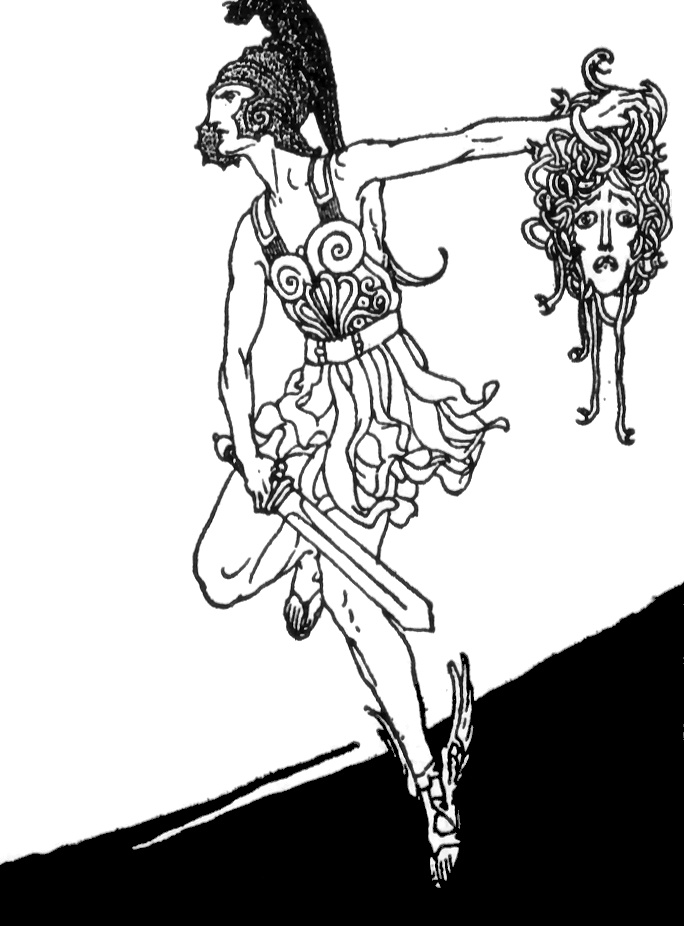 Perseus clipart drawing #3