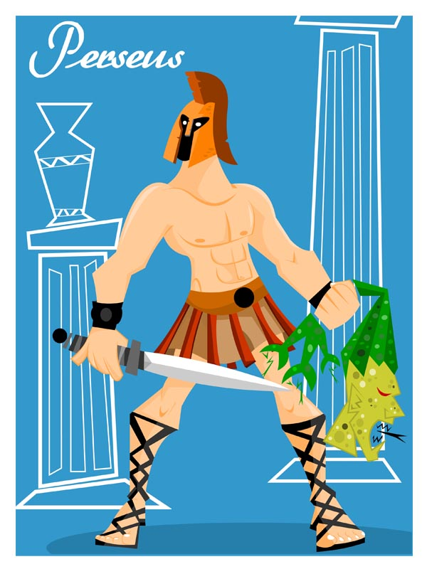 Perseus clipart greek person Awesome Please would of highest