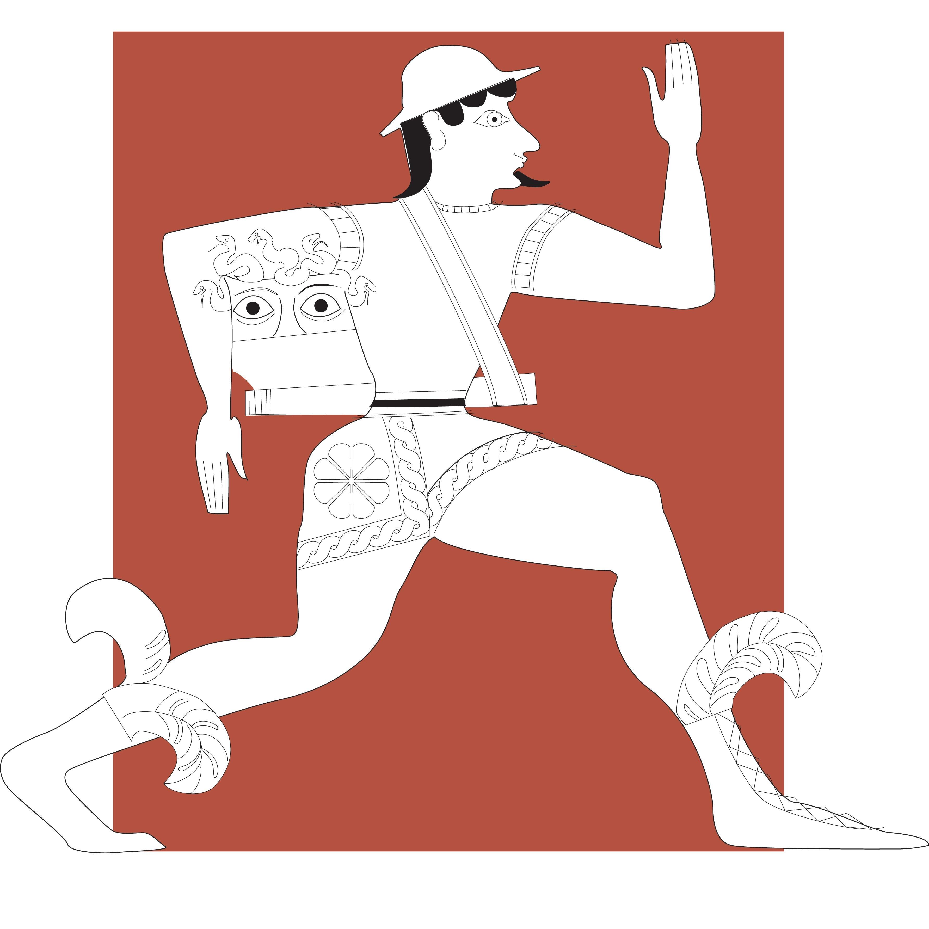 Perseus clipart greek person Perseus (@PerseusDigLib) Twitter DL Perseus