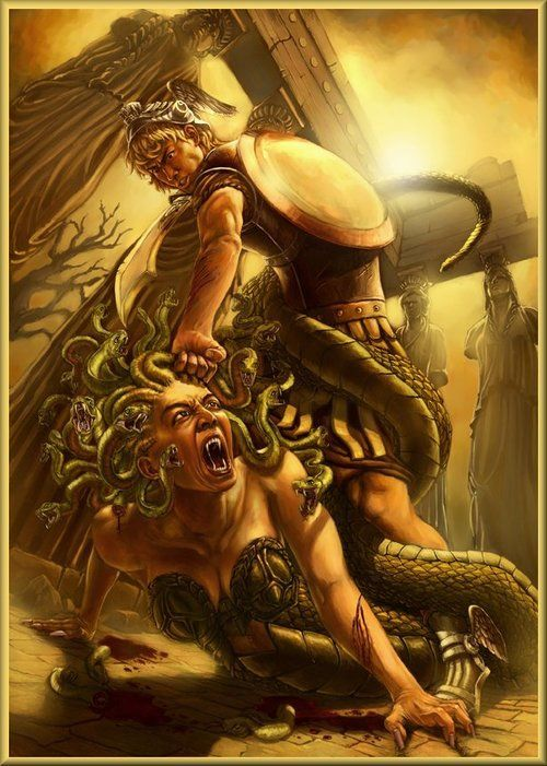 Perseus clipart greek soldier Medusa on medusa ideas Perseus