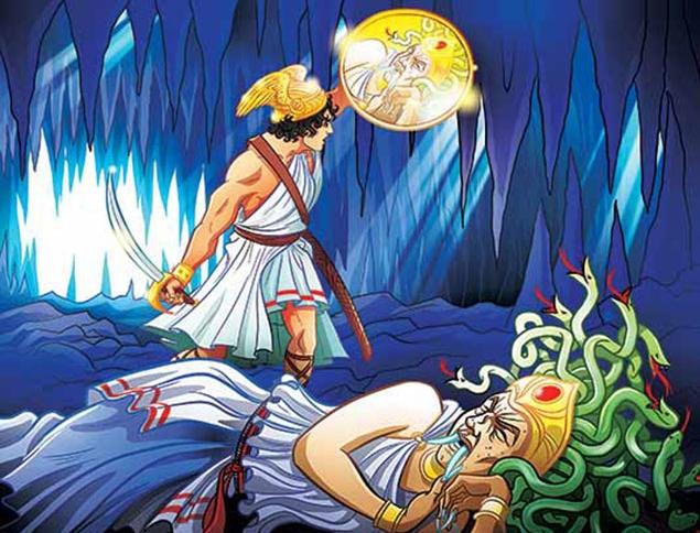 Perseus clipart greek soldier  Greek Myths Ancient Greek
