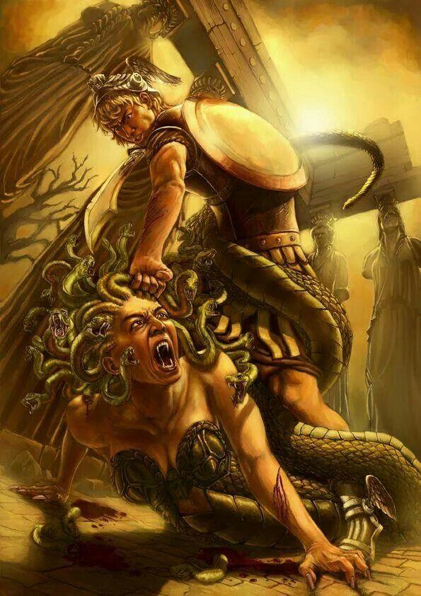 Woman Warrior clipart perseus Perseus ideas Best mythology Medusa