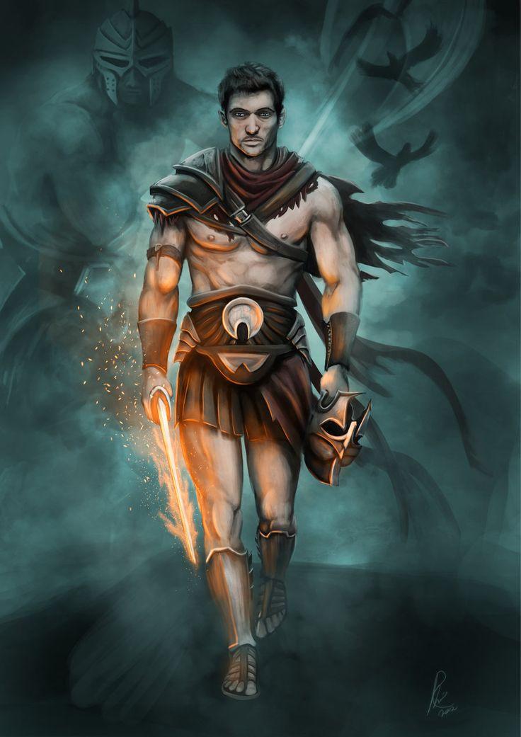 Woman Warrior clipart perseus Heroes  Perseus Minnaar images