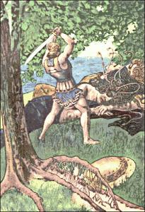 Perseus clipart medusa Medusa Clip Slaying Perseus Clipart