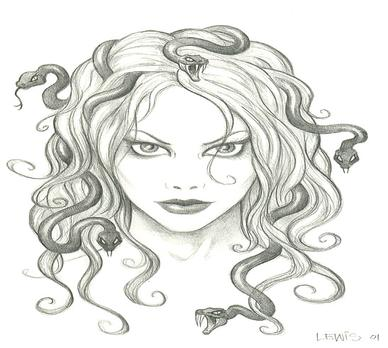 Perseus clipart medusa To Medusa terrifying mskellyconnolly both