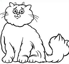 Persian Cat clipart cute cat Persian Clipart Cat Cat Free