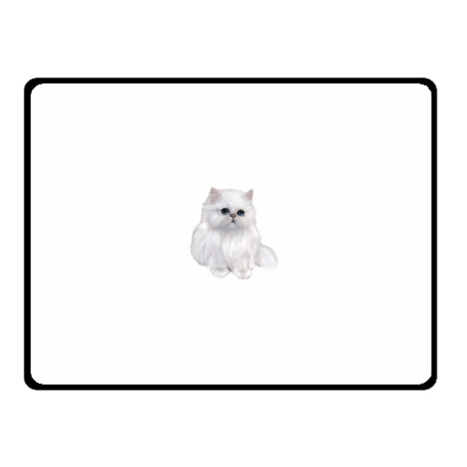 Persian Cat clipart full white Clipart Cat Sided Fleece Blanket
