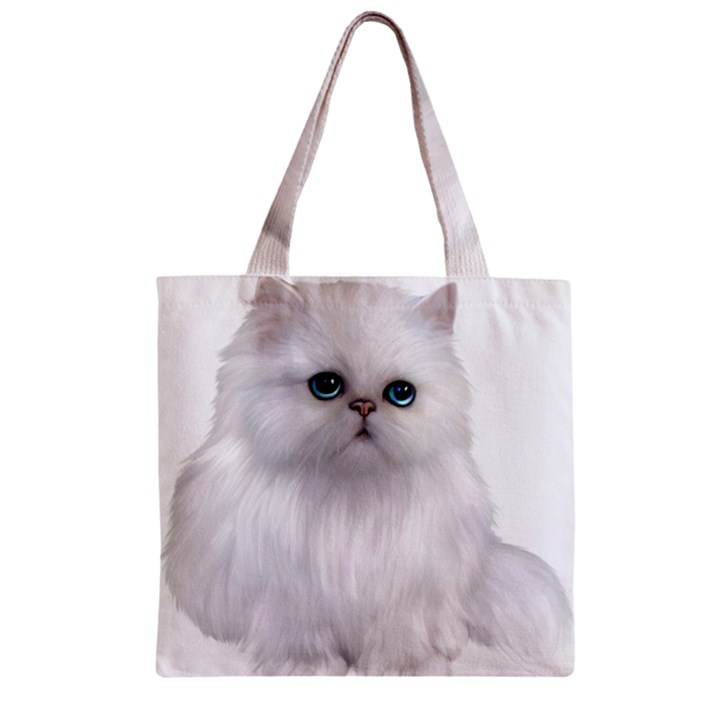 Persian Cat clipart full white Clipart Clipart Tote Tote Bags
