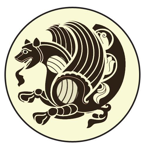 Persian clipart ancient civilization Simurg The Ancient Persian Symbols