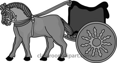 Persian clipart chariot Gray History chariot Clipart: and