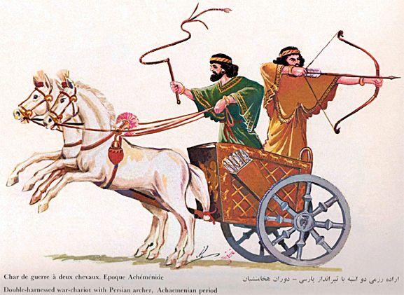 Persian clipart chariot Uniforms Military Persian Persian 4: