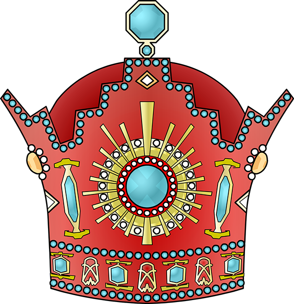 Persian clipart crown Shah Behance mighty Shah on