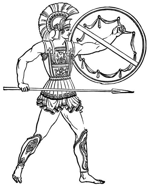 Persian clipart greek soldier Greek about on soldiers best