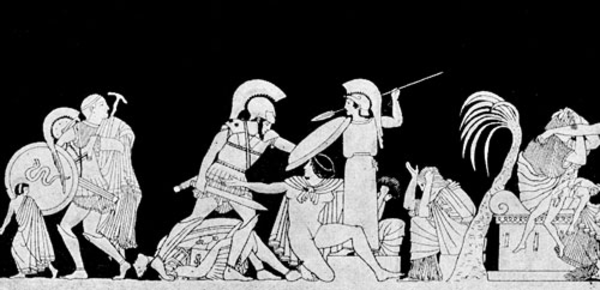 Persian clipart greek war Trojan ancient history was Greeks