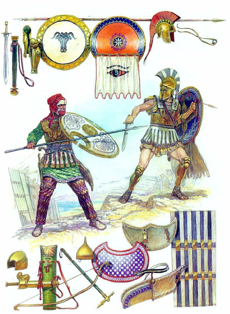 Persian clipart greek war Hoplite Persian The Greek Immortal