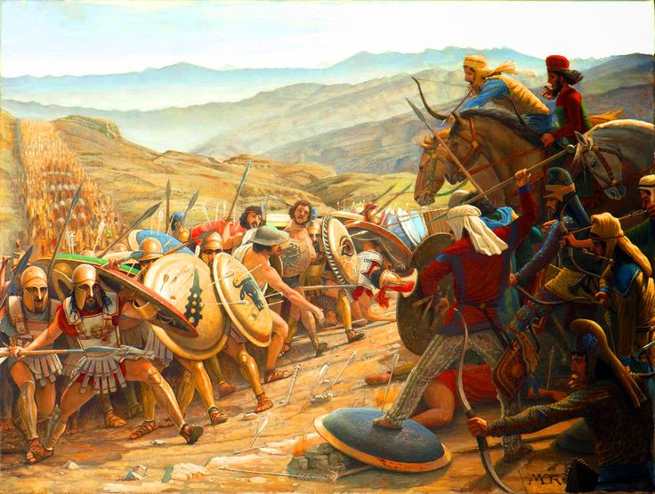 Persian clipart greek warrior War Greeks Greeks Pinterest the