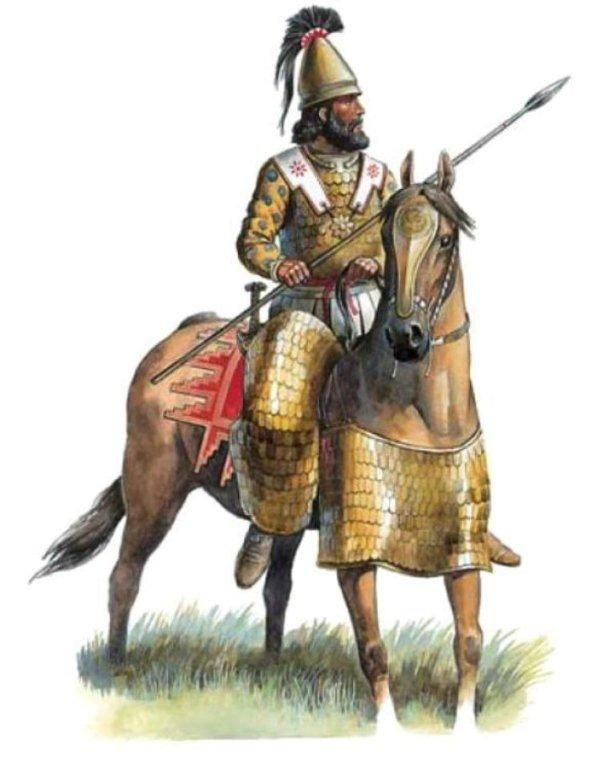 Persian clipart greek warrior Warriors 722 Pinterest Heavy Cavalry